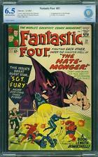 Tu Four # 21 US Marvel 1963 Intro Hate Monger SGT Fury CBCS 6.5 FN +