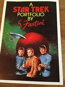 A Star Trek portfolio by S.Fantoni ltd edt no 40 of 200 hand signed RARE!!!!