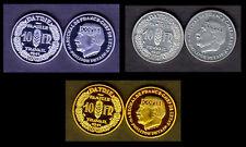 ★★★ COLLECTION DES 3 COPIES DE L'ESSAI 10 FRANCS PETAIN 1941 PAR SIMON ★★★