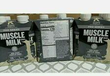 (3 4packs) Muscle Milk Pro Series Non-Dairy Protein Shake, Vanilla 11oz =132oz