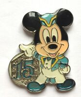 Disney Pin Badge 15th Anniversary Game Prize Pin - Spring 2016 - Mickey Mouse