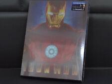 Iron Man 1 Steelbook [Blu-ray] Blufans Lenticular Slip -- Neu & OVP