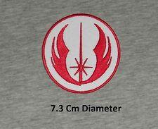 "STAR WARS ""JEDI ORDER"" Uniform Iron-on Logo - Embroidered Patch/ Badge"