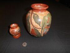 Nicaraguan pottery vintage San Juan De Oriente vase Jose Reyes Martinez