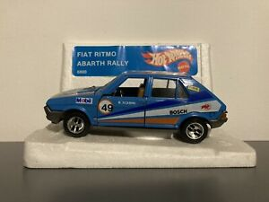 Mebetoys Hotwheels 1/24 1/25 Fiat Ritmo Abarth Rally Mattel