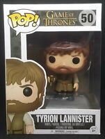 Funko Pop + Protector! Game Of Thrones #50 - Tyrion Lannister *Mint*