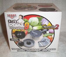 Chef's Rival 9 Attachments Ultimate Slicing and Grating - Brand New