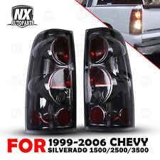 Tail Lights For 1999 2006 Chevy Silverado 1500 2500 3500 99 2003 Gmc Sierra Pair Fits 2005 Chevrolet Silverado 2500 Hd Ls