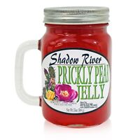 Shadow River Gourmet Prickly Pear Jelly From Real Cactus Juice, 13 oz Jar Mug
