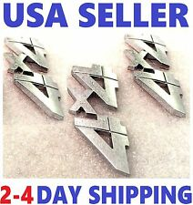 X3 Chrome 4X4 EMBLEM 3D CHEVROLET 4 X 4 ornament TRUCK badge SUV logo DECAL sv