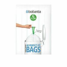 Brabantia 20/30L Bin Bag, Pack of 40 - White (06604)