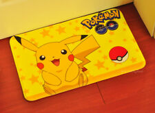 "Cute For Pokémon Pikachu Soft Bathroom Doormat Floor Mat Rug Pad 23.6""x15.7​"""