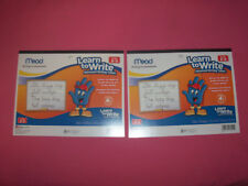 Lot 2 Mead Learn To Write Advanced Writing Tablets Grades 2-3 80 Sheets Each