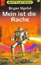 Nystul - MEIN IST DIE RACHE Battletech 55 Fantasy Techno Abenteuer TB