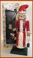 "Bombay Company 15"" Santa Claus Christmas Nutcracker- #2020363 - In Original Box"