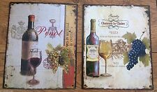 Unbranded French Country Metal Decorative Plaques & Signs