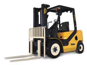 Yale GLP25UX LPG or Diesel - New Model