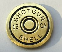 New Shotgun Shell 12 Guage Golf Ball Marker