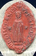 """Cachet .  Sceau """" évêque . évêché """"  sigillographie"""