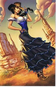 LEGEND OF OZ THE WICKED WEST #1 BLUERAINBOW EXCL LTD 500 NM J SCOTT CAMPBELL