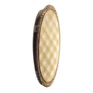 800er Silber Gold Revers Clip Servietten Halter silver napkin holder 🌺🌺🌺🌺🌺