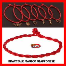 BRACCIALE Red String Kabbalah Etnico Rosso Corda Cordino rosso