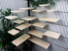 Set of 16 Pine 14.4cm deep Shelves/Ledges, Chinchilla, Degu, Rat,Cage