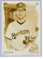 Corbin Burnes 2019 Allen and Ginter 5x7 Gold #206 /10 Brewers