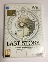 THE LAST STORY WII COVER IN ITALIANO PAL GIOCO NUOVO DA ESPOSIZIONE MULTILINGU