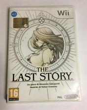 The Last Story Wii Housse en Italien Pal Jeu Neuf de Exposition Multilingu