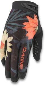 New Dakine Women's Aura Bike Cycling Gloves Large Brook Floral Biking