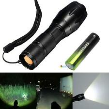 3000LM CREE XM-L T6 LED Flashlight Torch + 5800mAh Rechargeable 18650 Battery MT