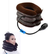 Air Cervical Neck Traction Soft Brace Device Head Shoulder Neck Pain Health Care