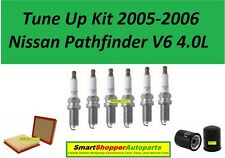 Spark Plug, Air Filter, Oil Filter to fit for Tune Up 2005-2006 Pathfinder V6