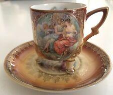 MITTERTEICH BAVARIA 3-LEGGED Demitasse Cup & Saucer #37