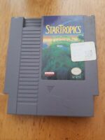 STAR TROPICS ORIGINAL 1985 NES NINTENDO VIDEO GAME CART ONLY