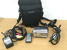 Sony Handycam DCR-SR75 25x Optical Zoom 60GB Disk Drive Touchscreen Camcorder