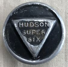 "Hudson Super Six Threaded Hubcap - No ""Extra"" Wording"