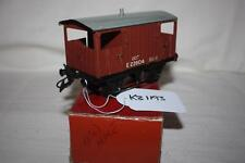 o gauge  hornby brake wagon in box touch up on black other wise good k31193