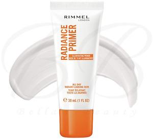 RIMMEL Radiance All Day Radiant-Looking Skin Illuminating Face Primer 30ml *NEW*