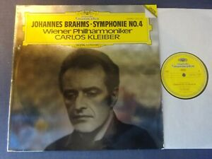 NM BRAHMS - SYMPHONY NO 4 LP, Vienna P/O, Carlos Kleiber, DG 2532 003