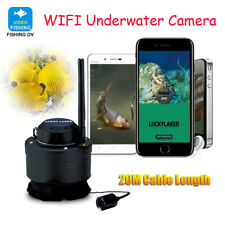 LUCKY FF3309 Wifi Underwater Camera for Fishing 80M Wireless 125Khz Record Video