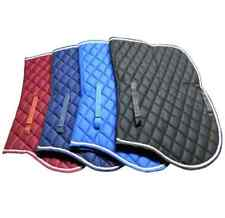 English Horse Saddle Pad Quilted Cotton Diamond Pattern