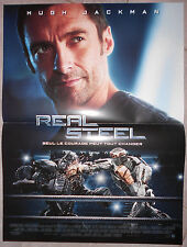 Affiche REAL STEEL Shawn Levy HUGH JACKMAN Dakota Goyo 40x60cm