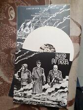 LORD OF EVIL-(WAR 88)-satan's soldiers-white-LP-black metal