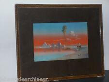 Peinture orientale signée