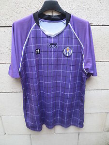 Maillot TOULOUSE TFC porté entrainement AIRNESS football shirt collectionXL