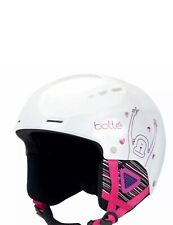 Bolle Quiz Ski Helmet Shiny White Monkey (49-52 cm)