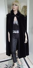 Louis fèraud Cape sera mantello mantella cappotto stola nero velluto Regina della notte