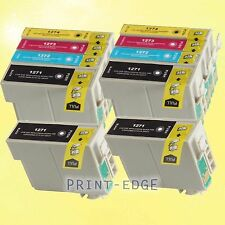 10 Pack 127 T127  Ink Cartridges for Epson 127 Stylus NX530 NX625 WorkForce 60